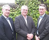 Derek Phelan, Sales & Marketing Director with Kevin Phelan, Operations & Service Director, and Rodney Phelan, Managing Director.